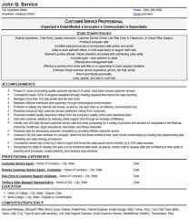 customer service resume examplesprofessionally done customer service resume  resumes are available professionally done such as this example from   resume business
