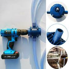 Metal Alloy Centrifugal <b>Heavy Duty Self-priming Hand</b> & Electric Drill ...
