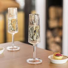 <b>Бокал для шампанского</b> Koziol <b>Superglas</b> Club No. 5, розовый ...