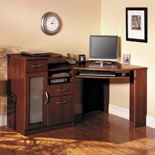 entrancing corner computer desk contemporary small l furniture office room with dark brown wood computer desk affordable home office desks