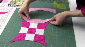 Quick Curve <b>Ruler</b> - <b>Cutting</b>, Sewing & Squaring Up Blocks - YouTube