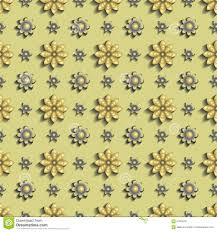<b>3D</b> Texture <b>Gold Flowers</b>. Hue Metal Yellow, Golden. Stock Vector ...