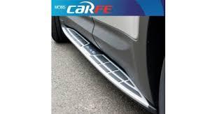 <b>Боковые подножки Sewon</b> - Hyundai Santa Fe DM (MOBIS)