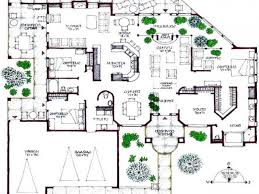 Ultra  Modern House Plans Modern House Floor Plans  contemporary