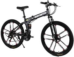 LIU <b>Aluminum</b> Alloy Bike <b>Folding</b> Frame, Bicicleta <b>Mountain Bike</b> ...