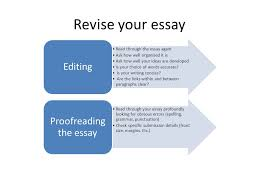 writing an academic essay the essay is a reflection of how well  revise your essay read through the essay again ask how well organised it is ask how