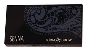 <b>Набор</b> для бровей Form-A-Brow Dark (<b>3</b> оттенка + 4 <b>трафарета</b> + ...