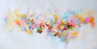 abstract paintingoriginal paintingacrylic paintingmodeancontemporary artpastel shades acryclic painting soft