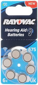 "<b>Батарейка</b> для слуховых аппаратов Varta ""Rayovac 675"", тип ..."