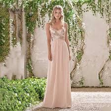 <b>Robe Demoiselle D'honneur</b> Sexy Ivory High Slit Chiffon Bridesmaid ...
