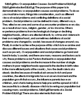 how overpopulation causes social problems at essaypediacom essay on how overpopulation causes social problems
