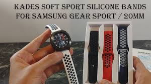 Kades <b>Silicone</b> Replacement Bands for Samsung Gear <b>Sport</b> and ...