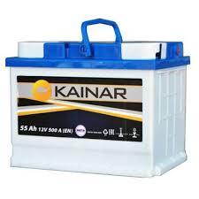 Аккумулятор <b>KAINAR 6СТ</b> 55 L АПЗ прямой 242*175*190