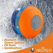 shower radio review guide x: abco tech bluetooth shower speaker bluetooth best shower speaker fm radio water resistant wireless and hands free speaker phone with suction cup auto pairing feature compatible with all bluetooth devices x