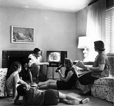 what is television a blessing or a problem writework family watching television c 1958