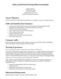 cover letter beginner resume template entry level resume template cover letter cover letter entry level resume objectives assistant example of financial analyst template skillsbeginner resume