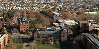 an aerial view of tufts upper campus tufts career services cover letter