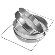 <b>Stainless</b> Steel Beekeeping Double Honey Strainer Filter Apiary ...