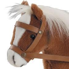 Коричневая <b>лошадь Gotz</b> с седлом и уздечкой от Gotz, 3401099 ...
