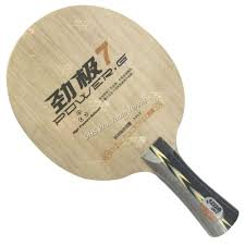 pro table tennis combo paddle racket 61second strange king shakehand with lightning ds and dawei 388d 1