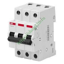 Купить <b>Автоматический выключатель ABB</b> Basic M <b>3P</b> 25A C 4 ...