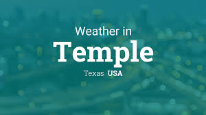 Weather for Temple, Texas, USA
