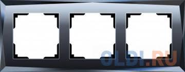 <b>Рамка Diamant</b> на 3 поста черный WL08-Frame-03 <b>4690389054419</b>