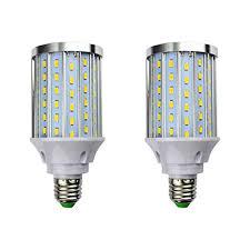 MD Lighting 30W <b>E27</b> LED <b>Corn Light Bulbs</b>(2 Pack)- 108 LEDs ...