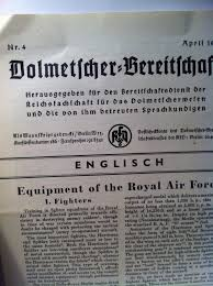 need help for this small news paper written in german english