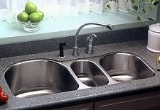 triple basin kitchen sink