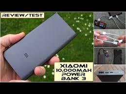 Xiaomi <b>Mi Power Bank 3</b> (10,000mAh): Review/Test - YouTube