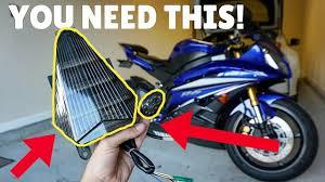 Yamaha R6 <b>Flush Mount</b> Turn Signal and Integrated Brake Light ...