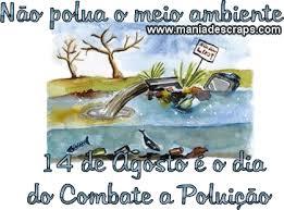 Resultado de imagem para dia do combate à Poluição