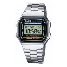Наручные <b>часы CASIO A-168WA</b>-<b>1</b> CASIO COLLECTION — купить ...