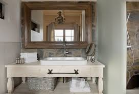 wood bathroom mirror digihome weathered: wooden bathroom mirror with shelf uk mirrors designer large round beautiful fairy palace in poland