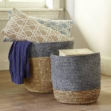 Bungalow Rose <b>Seagrass Baskets</b>   decor   <b>Basket</b>, <b>Seagrass</b> ...