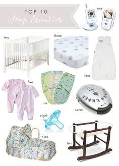 New Baby Checklist: Must-Haves For Preparing Parents - Sleeping Essentials