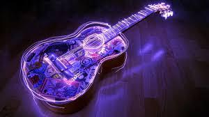 beautiful lighting guitar wallpaper image wallpaper beautiful lighting