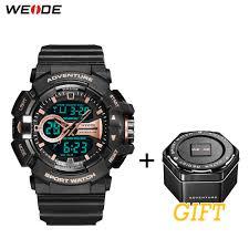 <b>WEIDE Sports</b> Casual Luxurious Hour Clock Electronic Device 50 ...