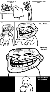Image - 3230] | Trollface / Coolface / Problem? | Know Your Meme via Relatably.com