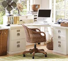 image of wondrous bedroom corner desk unit that using high white gloss colors finish and 2 bedroom office chair