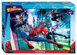 <b>Пазл Step puzzle Marvel</b> Человек-паук - 2 (95073), 260 дет ...