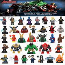 Avengers 3 Infinity War <b>Legoing Marvel Super Heroes</b> Figures Black ...