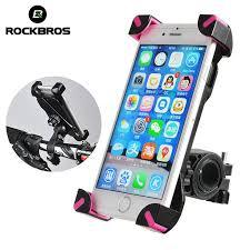ROCKBROS Anti-Slip Universal 360 Rotating <b>Bicycle Bike Phone</b> ...