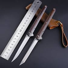 <b>M390</b> Steel <b>Fold</b> Knife CS Go <b>Portable</b> Pocket Solid Wood <b>Folding</b> ...