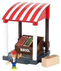 Купить <b>Игровой набор Brio</b> Магазинчик овощей 33946 по ...