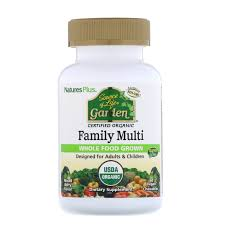 <b>Source of Life</b>, <b>Garden</b>, Organic Family Multi, Mixed Berry Flavor, 60 ...