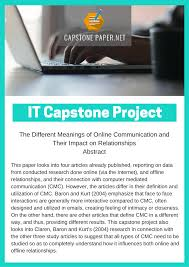 capstone essay capstone project for information technology best paper titles capstone paper capstone project for information technology best paper titles capstone paper