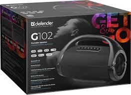 Портативная <b>колонка DEFENDER G102</b> да Цвет черный 3 кг <b>65690</b>