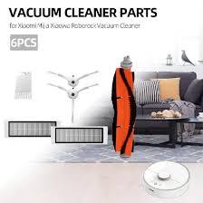 Shop <b>6Pcs Vacuum Cleaner</b> Parts <b>HEPA Filter</b> Cleaning Tool Side ...